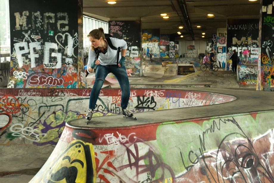 Ice skating x
